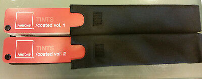 Pantone Tints Coated Vol 1 and Vol 2 Color Matching Swatches w/Cover Sleeve