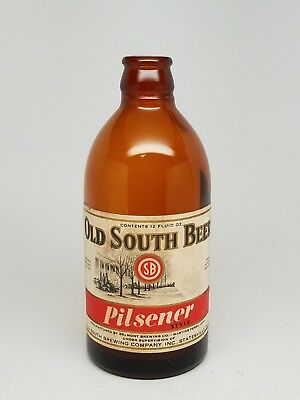 OLD SOUTH Beer Stubbie bottle - Statesville, NC