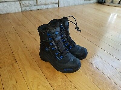 Boys COLUMBIA Waterproof Snowboots SNOW BOOTS Size 2 Winter