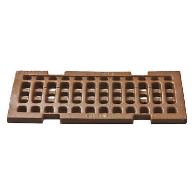 "JAY R. SMITH MFG. CO Trench Drain Grate,6"" W,12"" L, 2810CIG"