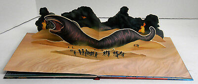 1984 Dune Panorama Pop-Up Book Published by Grosset and Dunlap Exc Unused Cond