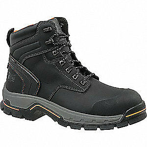 TIMBERLAND PRO Work Boots,Mens,15,M,Lace Up,6inH,Blk,PR, 1064A, Black