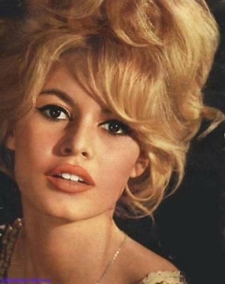 GLOSSY PHOTO PICTURE 8x10 Brigitte Bardot Sexy Blonde