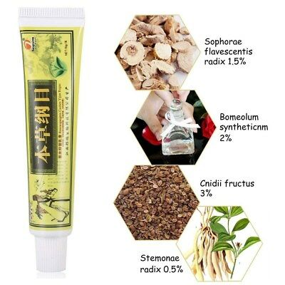 Chinese Herbal Eczema Ointment Pruritus Psoriasis Dermatitis Cream