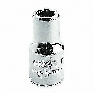 PROTO Alloy Steel Socket,1 in. Dr,2-1/4 in.,12 Pt., J5772