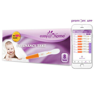 Easy@Home 8 Pregnancy Test Sticks hCG Midstream Tests Premom Ovulation Predictor