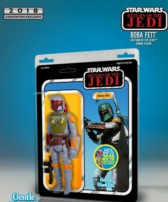 SDCC 2018 Gentle Giant 12″ Boba Fett Return of the Jedi Jumbo Figure Sold Out Ex