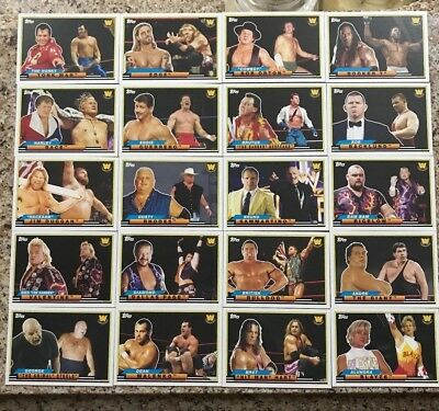 2018 Topps WWE Heritage Big Legends Pick from Set list (1-50) Buy 2 Get 3 Free