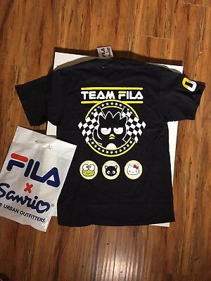 FILA x Sanrio Urban Outfitters Limited ComplexCon T-Shirt Badtz Maru Racing S