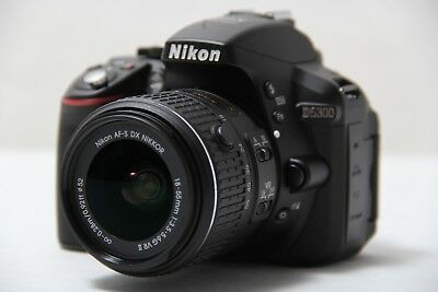 Nikon D5300 24.2 MP CMOS Digital SLR Camera with 18-55mm f/3.5-5.6G ED VR II ...