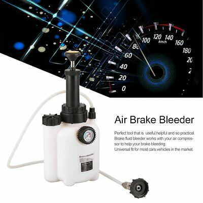 Single Brake Bleeder Car Auto Air Powered Pneumatic Brake Garage Vacuum Tool ER