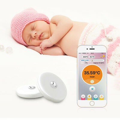 Baby Kids  Bluetooth Body Thermometer For Fever Smart Phone Monitor Gift