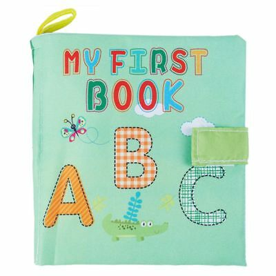 Soft Baby Cloth Book Early Educational Newborn Crib Toys for 0-36 Months In C6R8