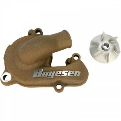 Boyesen Supercooler Water Pump Cover and Impeller Kit Magnesium