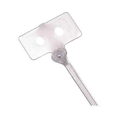 TY-RAP(R) Nylon 6/6 Cable Tie,With ID Tag,4 in,Natural,PK500, TY53M