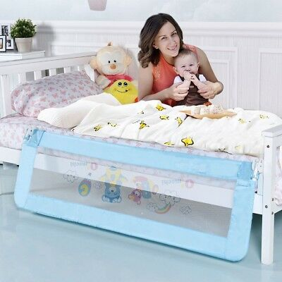 """69"""" x 23"""" Breathable Baby Children Toddler Bedroom Bed Rail Safety Tool 5.5 lbs"""