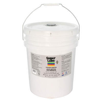 SUPER LUBE Synthetic Gear Oil,ISO 460,5 Gal., 54405, Translucent Clear