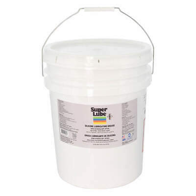 SUPER LUBE Silicone Lubricating Grease,30 Lb., 92030