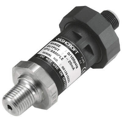 ASHCROFT Pressure Transducer,30 In Hg Vac to30psi, G17M0242EWVAC/30#