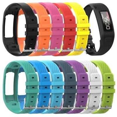 Replacement Silicone Soft Wrist Watch Band Strap For Garmin Vivofit 1 2 Watch