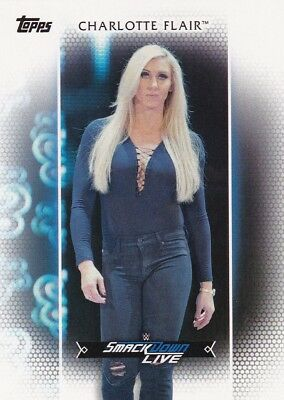 2017 Topps WWE Women's Division, Roster Card # R-29 Charlotte Flair