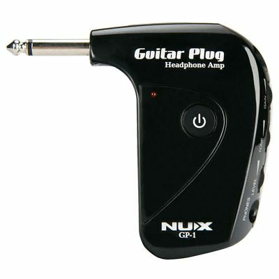 NUX GP-1 Portable Electric NUX Guitar Amplifier Amp Mini Headphone Amp Buil J4K5