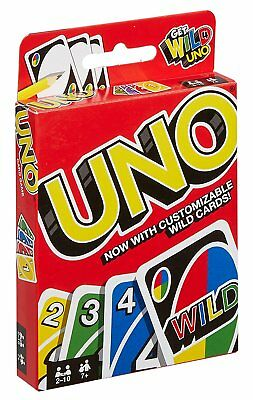 UNO Card Game Family Travel Collection Adult Mattel Classic Gift Top Games NEW