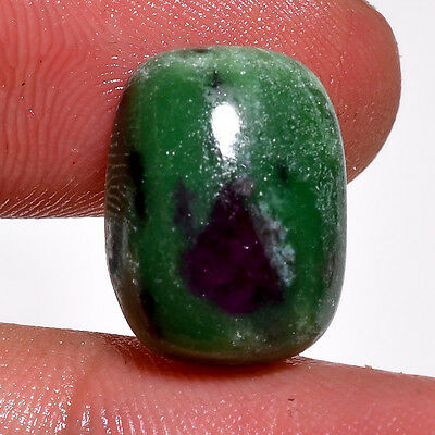 100% Natural Ruby Zoisite Gemstone Cabochon  12.35 Ct. D-3388