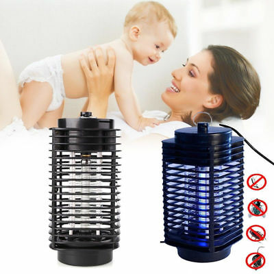 LED 220V Socket Electric Mosquito Fly Bug Insect Trap Night Lamp Killer Zapper