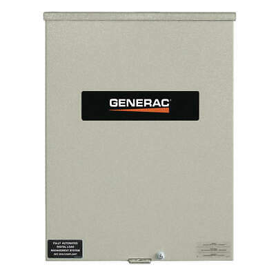 GENERAC Automatic Transfer Switch,240V,20 in. H, RTSC100A3, Gray