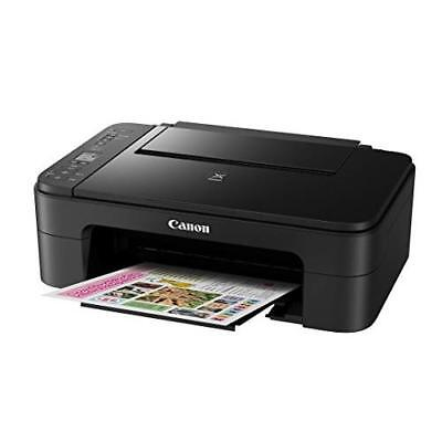 Canon All-In-One Printer TS3120 Wireless Office Products 2226C002 Black Compact