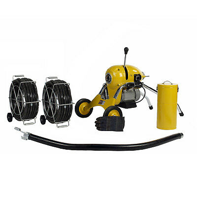Steel Dragon Tools® K1500B Drain Cleaner with 120' of C11 Cable fits RIDGID®