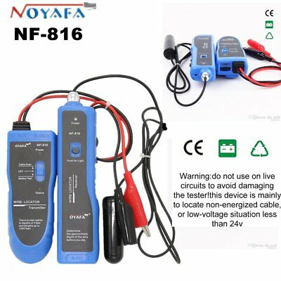 NF816 Underground Tube Wall Wire Cable Line Locator Tracker Detector Tester MY