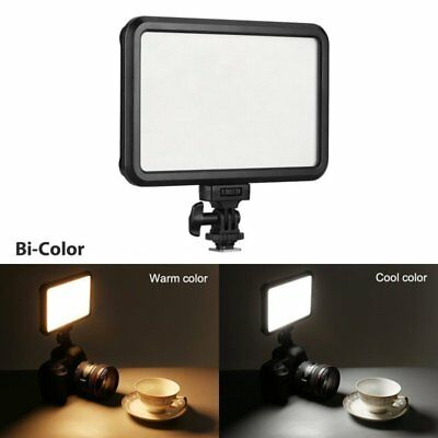 12W 1200LM LED Video Photo Light Lamp Panel Dimmable For Camera Video Camcorder