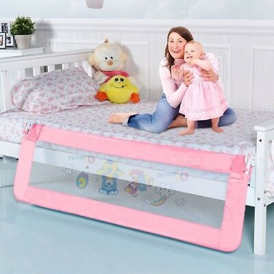 """59"""" x 23"""" Breathable Baby Children Toddler Bedroom Bed Rail Safety Tool 5.5 lbs"""