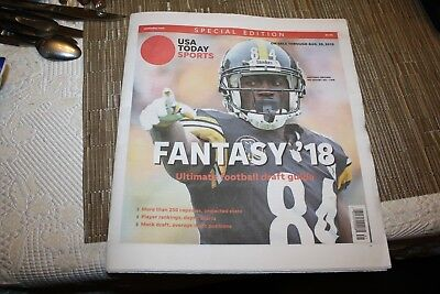USA Today Special Edition - Fantasy Football '18