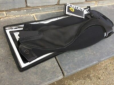Ariat Volant Fusion Gaiters/Chaps. Black. Size ST. Small, Tall. New, In Bag.