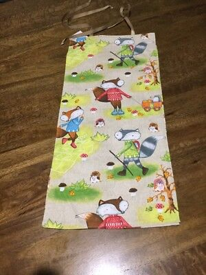 Baby Diaper Nappy Stacker---Woodlands Friends——- New, Free Post,  (T2)