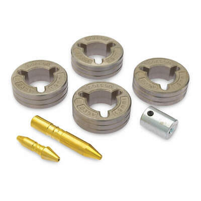 MILLER ELECTRIC Steel Drive Roll Kit, 4-Roll, V-Grooved, 0.035, 151026