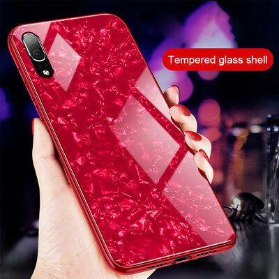 3D Glass Luxury Bling Shockproof Silicone Case Cover For Huawei P20 Pro Lite