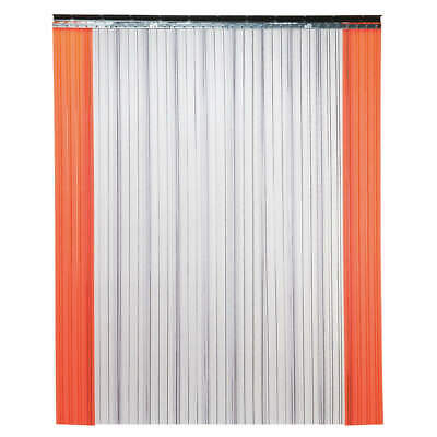 TMI Industrial Strip Door,Ribbed,8ftHx5ftW, 999-00030