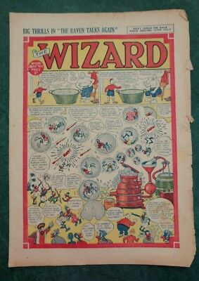 THE WIZARD No 1139 - 5th July 1947   Adventure Stories Comic UK