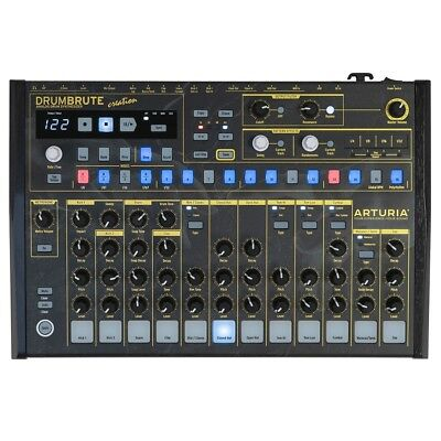 Arturia DrumBrute Creation Edition Analog MIDI USB Interface Synth Drum Machine