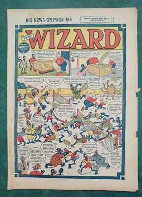 THE WIZARD No 1141 - 26th July 1947   Adventure Stories Comic UK