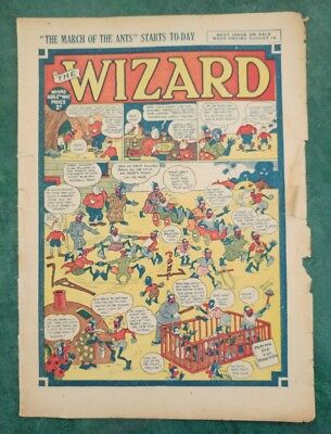 THE WIZARD No 1142 - 2nd August 1947   Adventure Stories Comic UK