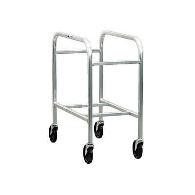 GRAINGER APPROVED Aluminum Container Dolly,700 lb., 6266, Silver