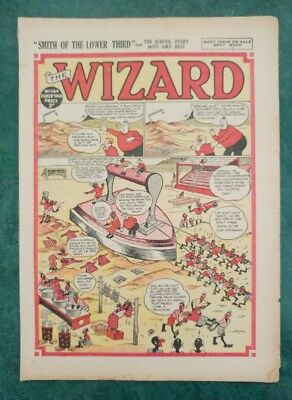 THE WIZARD No 1164 - 28th February 1948   Adventure Stories Comic UK