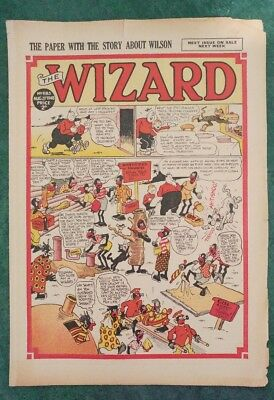 THE WIZARD No 1183 - 21st August 1948   Adventure Stories Comic UK