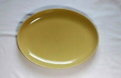 Russel Wright Iroquois Casual China Chartreuse Platter Mid Century Modern