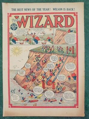 THE WIZARD No 1218 - 18th June 1949   Adventure Stories Comic UK